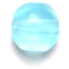Glass Beads 10mm Facetted Aqua